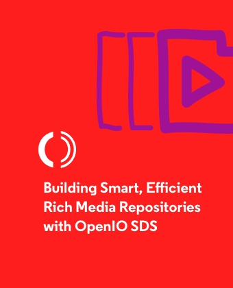 Building smart, efficient rich media repositories with OpenIO SDS - Preview
