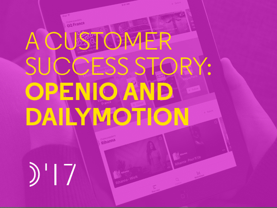 A Customer Success Story: OpenIO and Dailymotion - Preview