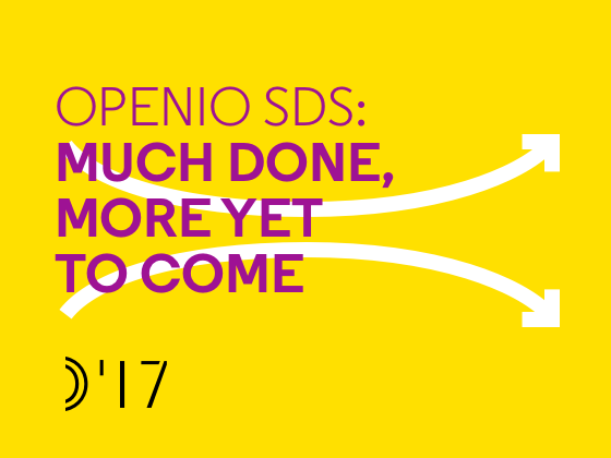 OIO-SDS: Much Done, More Yet to Come - Preview
