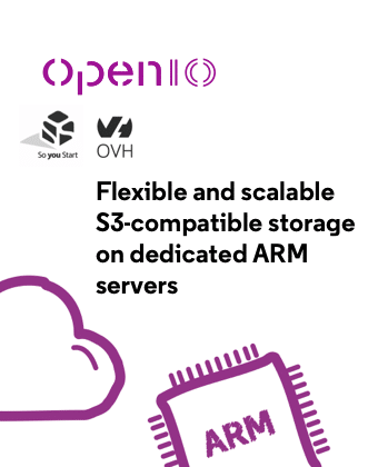 Flexible and scalable S3-compatible storage on dedicated ARM servers - Preview