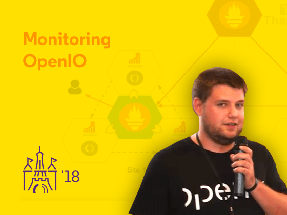 Monitoring OpenIO - Preview