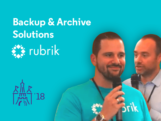 Backup & Archive Solutions with Rubrik & OpenIO - Preview
