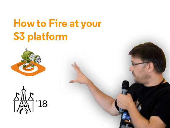 How to Fire at Your S3 Platform - Preview