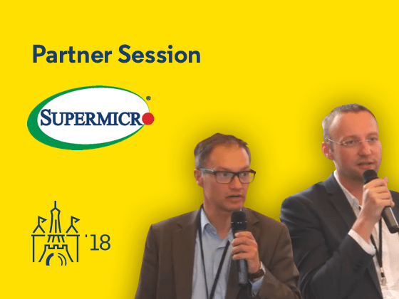 Partner Session: Supermicro - Preview
