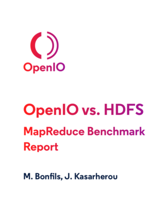 OpenIO Object Storage vs. HDFS - Preview